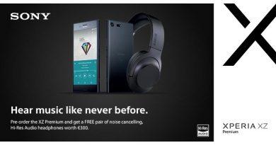 Xperia XZ Premium в предварителна продажба с подарък