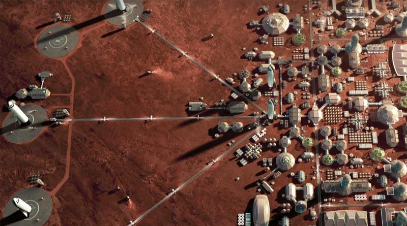 Планета Марс - объяснение для детей
