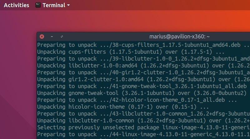 Ubuntu 17.10 (Artful Aardvark) вече използва Linux Kernel 4.13