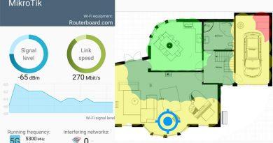 Безплатен app Wi-Fi Heatmap