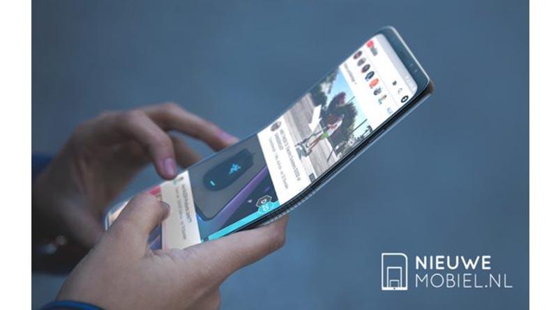 Сгъваемият смартфон на Samsung може и да изглежда така