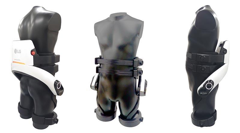 LG развива екзоскелет робота си