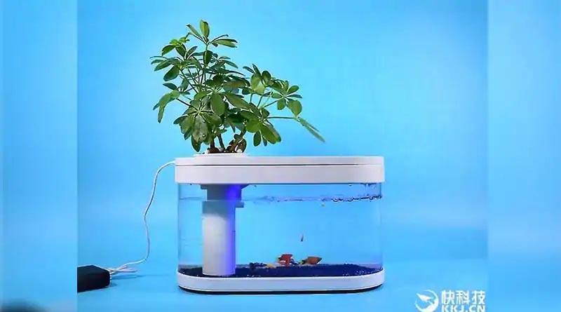 Xiaomi вече предлага и аквариум