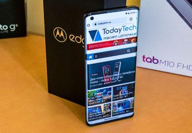 Ревю: Motorola edge