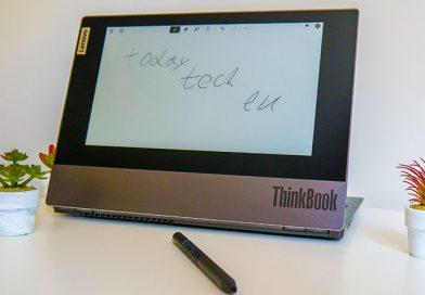 Lenovo ThinkBook Plus – Изненадата е в капака
