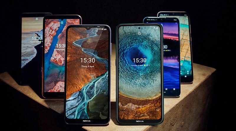Дебют на шест нови смартфона Nokia в сериите C, G и X