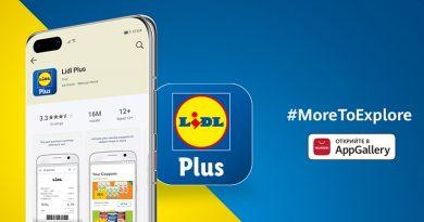 Lidl Plus вече е налично в Huawei AppGallery
