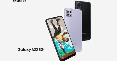 Samsung Galaxy A22 5G с 15% онлайн отстъпка от Теленор